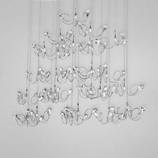 Volare 25 Light Oval Chandelier