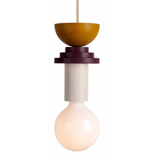 Memphis Style Design Light Pop Art