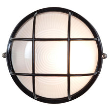 Nauticus Round Outdoor Bulkhead Wall Sconce