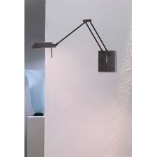 Bernie Tent Shade Swing Arm Wall Lamp