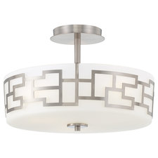 Alecia's Necklace Semi Flush Ceiling