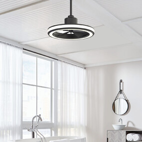 Gleam Indoor / Outdoor Ceiling Fan with Light