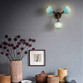 Stem 3X Wall Sconce / Ceiling Light