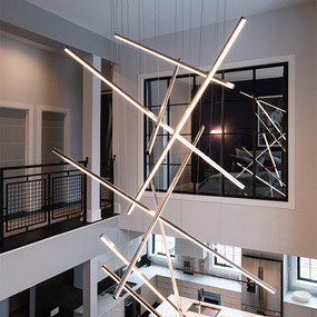 Installation Gallery Stairway Lighting Chandeliers
