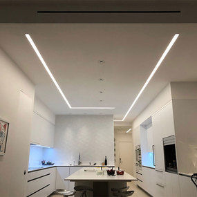 TruLine 1.6A 5W 24VDC Plaster-In LED System
