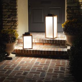 Tradition Solar Outdoor LED Lantern