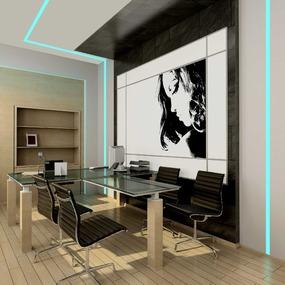 TruLine 1.6A RGB 10W 24VDC Plaster-In LED System