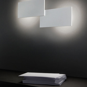Puzzle Double Rectangle Wall / Ceiling Flush Light & Den/Study Lighting | Shop by Room azcodes.com