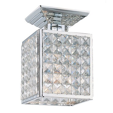 Chelsea Mini Square Semi Flush Ceiling