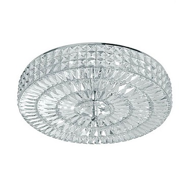 Chelsea Round Flush Mount Ceiling by Crystorama | 818-CH-CL-MWP