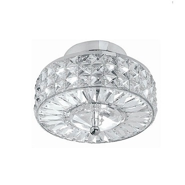 Chelsea Round Semi Flush Ceiling by Crystorama | 809-CH-CL-MWP
