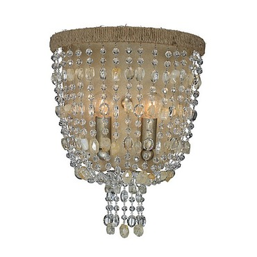 Eva Wall Sconce by Crystorama | 262-BS