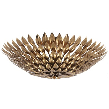 Broche Ceiling Light Fixture by Crystorama | 507-GA