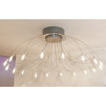 Domos Semi Flush Ceiling Lamp