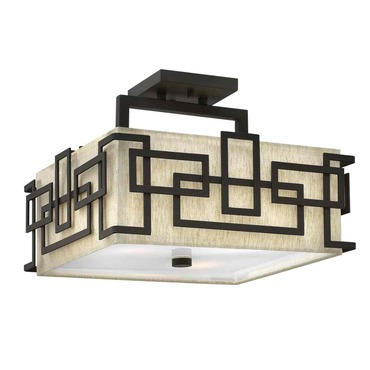 Lanza Semi Flush Mount