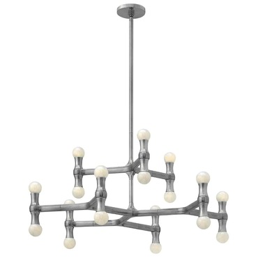 Karma Large Chandelier by Fredrick Ramond | FR41948PAL