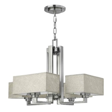 Quattro Light Chandelier by Fredrick Ramond | FR49454BNI