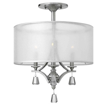 Mime Light Semi Flush Mount by Fredrick Ramond | FR45601BNI
