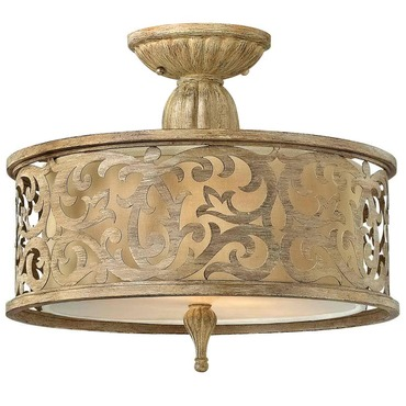 Carabel Semi Flush Ceiling Light by Fredrick Ramond | FR44621BCH