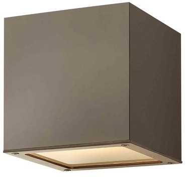 Kube Outdoor Wall Sconce by Hinkley Lighting | 1766BZ