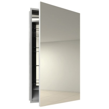 Simplicity Surface Medicine Cabinet without defogger by Electric Mirror | SIM1940-RT-SM