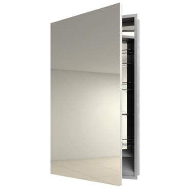 Simplicity Left Recessed Medicine Cabinet by Electric Mirror | SIM1940-LT-RM