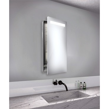 Luminous Right Recessed Medicine Cabinet by Electric Mirror | LUM1940-RT-RM