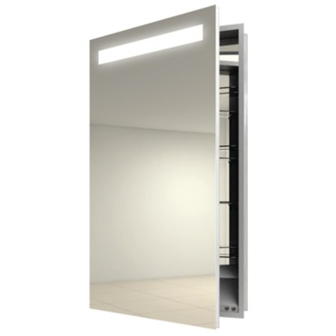 Luminous Left Surface Medicine Cabinet