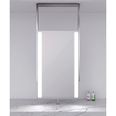 Element Lighted Mirror by Electric Mirror | ELE60-2438-BS