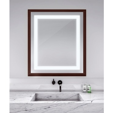 Momentum 41-inch Lighted Mirror by Electric Mirror | MOM4147-MU04