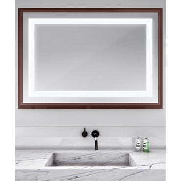 Momentum 59-inch Lighted Mirror by Electric Mirror | MOM5941-MU04