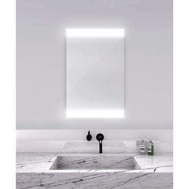 Novo Horizontal Lighted Mirror by Electric Mirror | NOV4-2436
