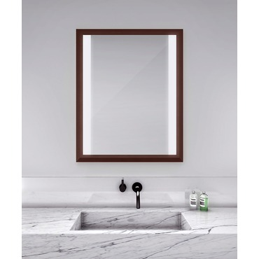 Ovation Lighted Mirror by Electric Mirror | OVA3341-MU04