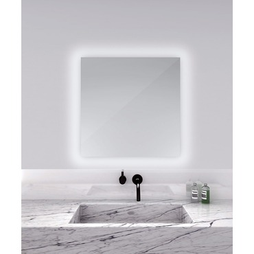 Serenity Square Lighted Mirror by Electric Mirror | SER3030