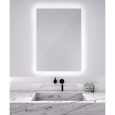 Serenity Rectangular Lighted Mirror by Electric Mirror | SER3042