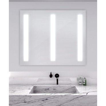 Triple Fusion Lighted Mirror by Electric Mirror | FUSTRI4840