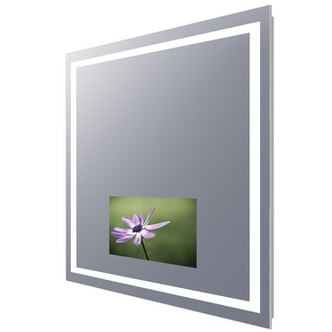 Integrity Lighted Mirror with 15 inch TV