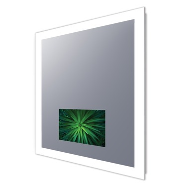Silhouette Lighted Mirror with 15 inch TV