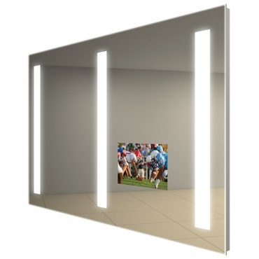 Triple Fusion Lighted Mirror with TV