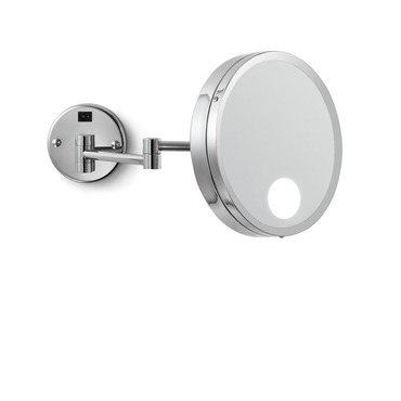 Artistry Wall-Mounted Makeup Mirror by Electric Mirror | EMHL7-CH