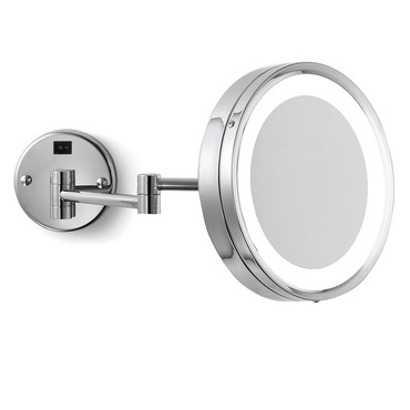 Blush Wall-Mounted Makeup Mirror