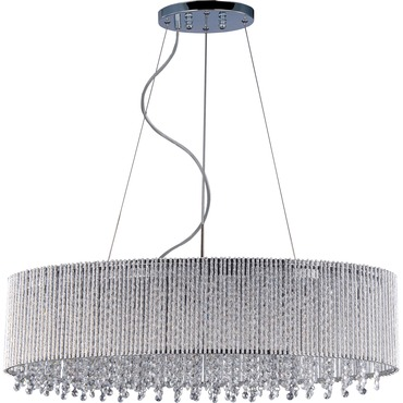 Spiral 6-light Pendant by Et2 | E23144-10PC