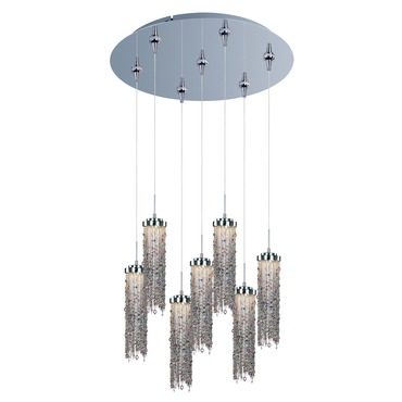 Bianca 7-light LED Pendant by Et2 | E95190-148PC