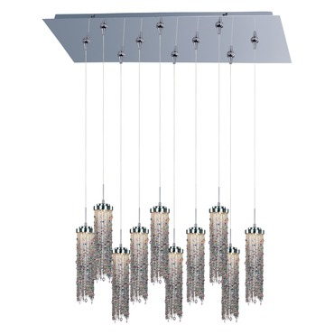 Bianca 10-light LED Pendant by Et2 | E95488-148PC