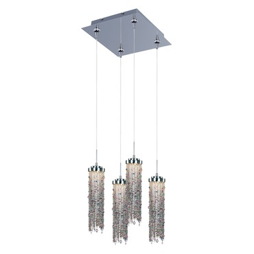 Bianca 4-light LED Pendant