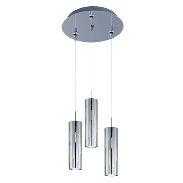 Scope 3-light LED Pendant
