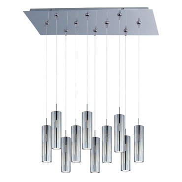 Scope 10-light LED Pendant