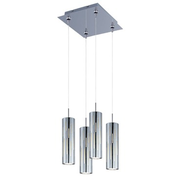 Scope 4-light LED Pendant