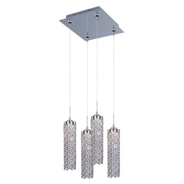 Shanell 4-light LED Pendant by Et2 | E94788-20PC