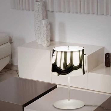 White And Black Table Lamp by Av Mazzega | TA 4037